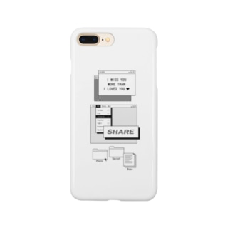 cee7    クリア/90s/web Smartphone cases