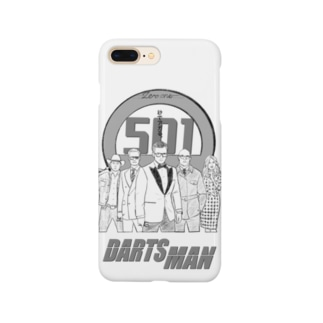SWEET&SPICY 【すいすぱ】のDARTS MAN Smartphone cases