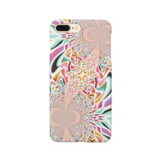 KAERUCAFE SHOPのサイケA Smartphone cases