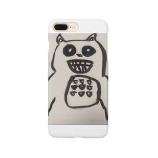 miso-rumisokeの自粛っくま Smartphone cases