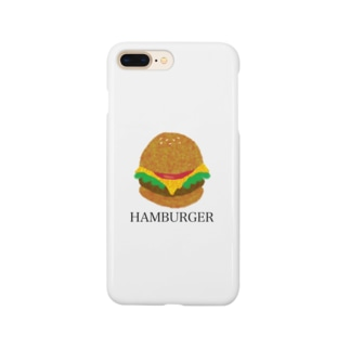 HAMBURGER《ハンバーガー》 Smartphone cases