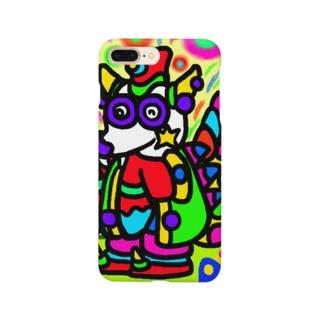 竜のパンワン Smartphone cases
