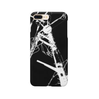 元実家の目の前に立ってる電柱 Smartphone cases