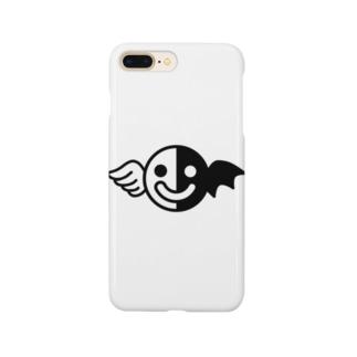 白黒くん Smartphone cases