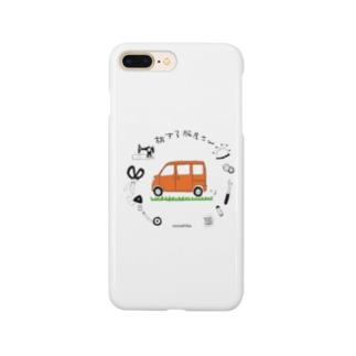 ココシバ×旅する服屋さん Smartphone cases