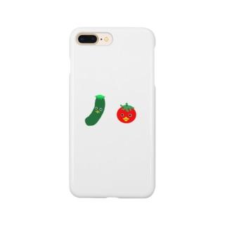 お野菜カッパちゃん Smartphone cases