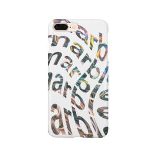 まーぶるmarble Smartphone cases