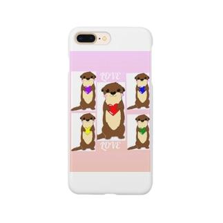minminのラブカワウソちゃん Smartphone cases