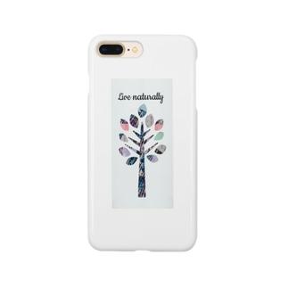 lifejourneycolorfulのナチュラルに生きよう Smartphone cases