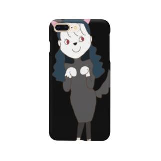 おおかみちゃん Smartphone cases