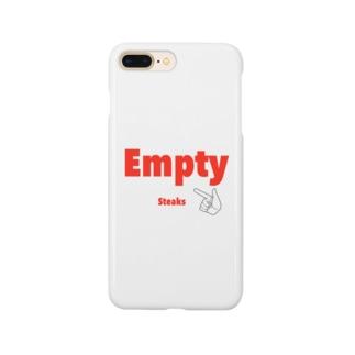 健人のEmpty スマホケース Smartphone cases