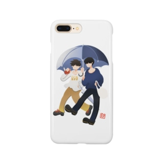 Hs0202Shonのtwo good friends Smartphone cases