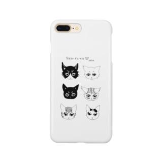 ねこだらけグッズ Smartphone cases