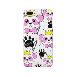minminのピンキーパンダ Smartphone cases