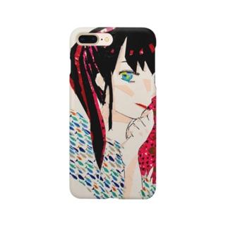 春日陽一の美笑 Smartphone cases