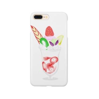 たえこのフルーツパフェ Smartphone cases