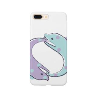 ぐるぐるうつぼ Smartphone cases