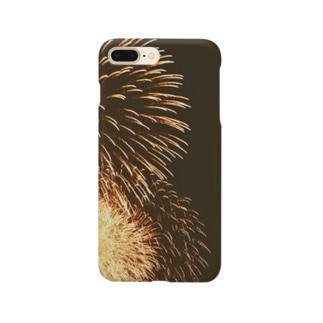 軌跡の結晶の打ち上げ花火 Smartphone cases