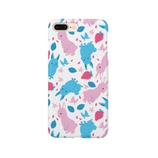 春うさぎ Smartphone cases