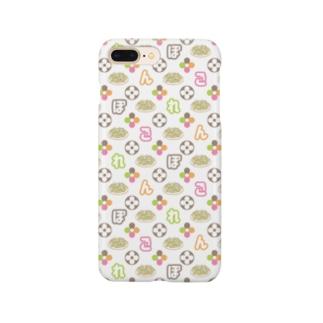 ぼんごれモノグラム Smartphone cases
