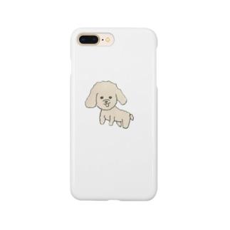 もふもふ犬 Smartphone cases