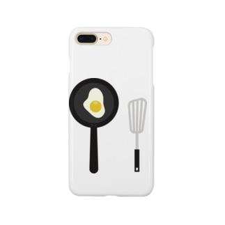 目玉焼き Smartphone cases