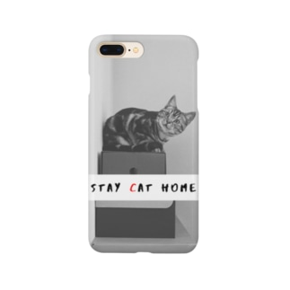 STAY (C)AT HOME Smartphone cases