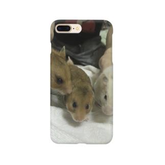 3匹のハムスター Smartphone Case