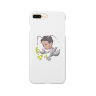 脱皮:ヨコシマな海神え〜び〜 Smartphone cases