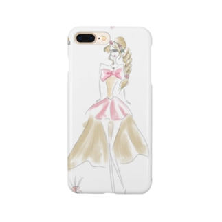 MAKE-UP GIRL Smartphone cases
