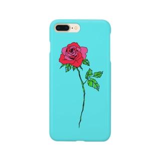 ETTAのpaper rose Smartphone cases
