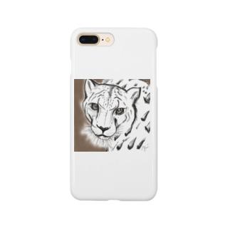 YUMIのユキヒョウ Smartphone cases