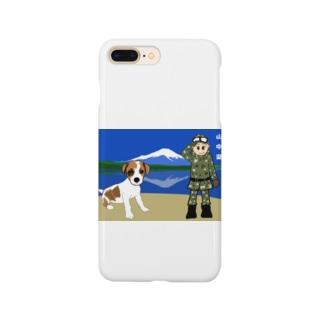 そっくの雑貨屋さんのオーリと富士山 Smartphone cases