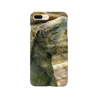 ミヤセのイグアナスマホケース Smartphone cases