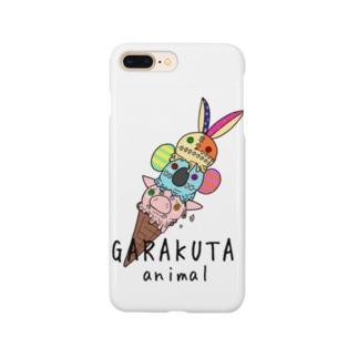 ガラクタアイス スマホケース Smartphone cases