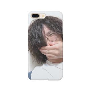 酔っ払いの自撮り写メで作ったアイテム Smartphone cases