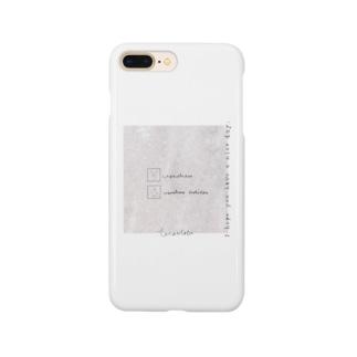 rilybiiの大理石*うさぎ Smartphone cases
