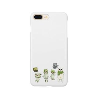 キャラクター集合 Smartphone cases