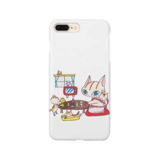 お茶の間 Smartphone cases