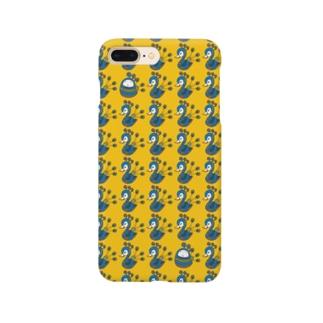 クジャク★ぱんだ Smartphone cases