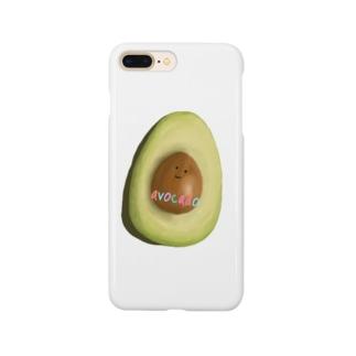 アボカド Smartphone cases