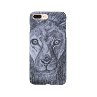 J's Art Galleryの獅子 Smartphone cases