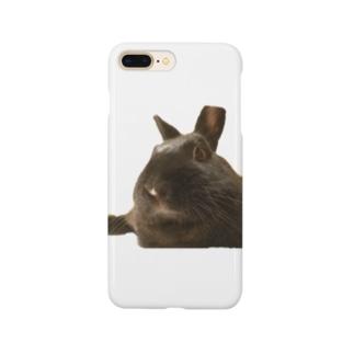 くつろぐウサギ こじろう Smartphone cases
