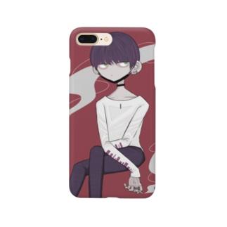 黒マスクくん Smartphone cases