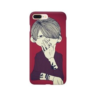 スカし野郎 Smartphone cases