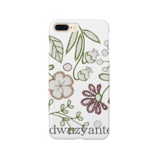 ドゥジャンテオリジナル(紙刺繍) Smartphone cases