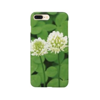 シロツメクサ Smartphone cases