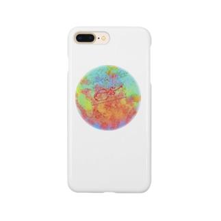 アカムシの唾腺染色体 Smartphone cases