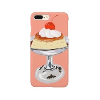 喫茶店かためプリン Smartphone cases