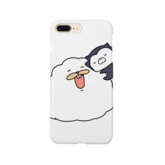 ムーピーとムーネフ Smartphone cases